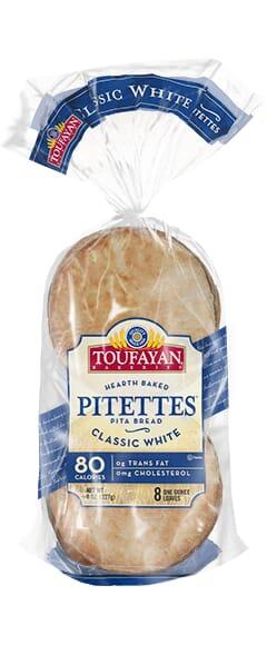 Toufayan Bakeries Classic White Pitettes