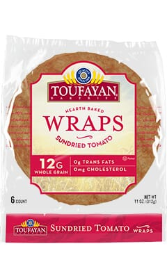Toufayan Bakeries Sundried Tomato Wraps