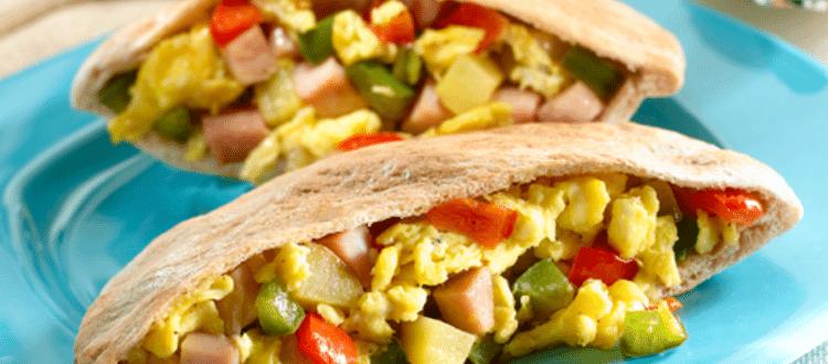Toufayan Bakeries breakfast hash pita