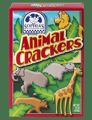Sophias Animal Crackers
