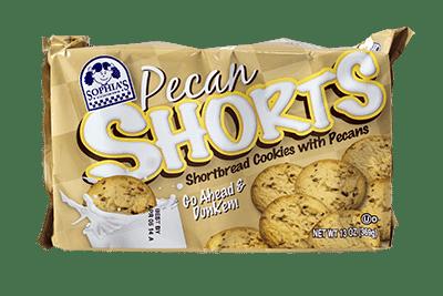 Sophias Pecan Shorts Cookies