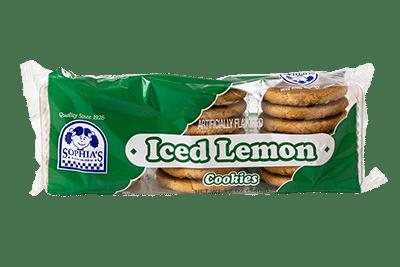 Sophias Iced Lemon Cookies