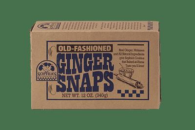Sophias Old-Fashioned Ginger Snaps