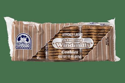 Sophias Almond Windmill Cookies