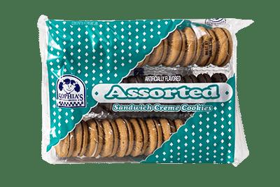 Sophias Assorted Sandwich Creme Cookies