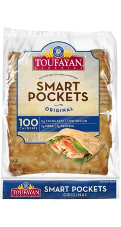 Toufayan Bakeries Original SmartPockets