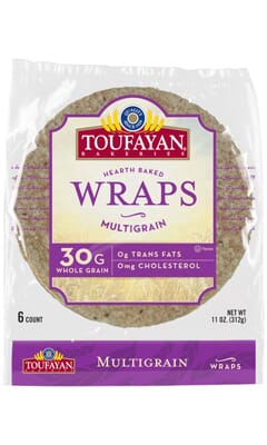 Toufayan Bakeries Multigrain Wraps