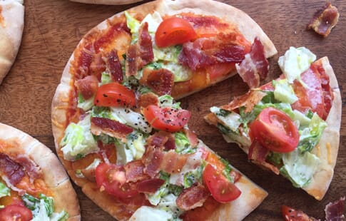 Mini BLT Pizzas