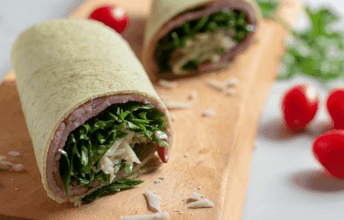 Gluten-Free Black Forest Ham & Cheese Wrap