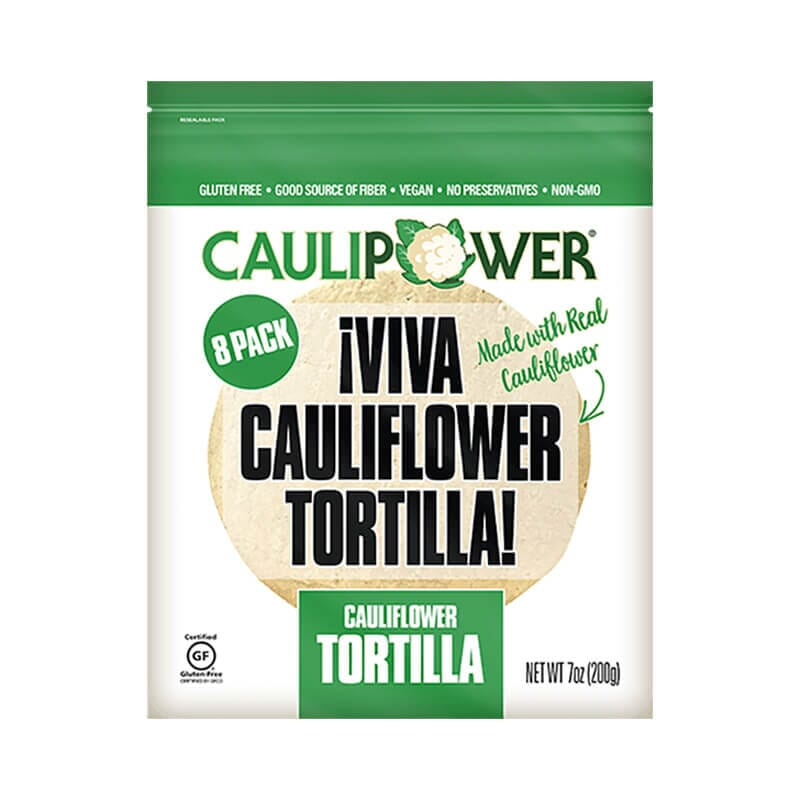 Caulipower Viva Cauliflower Tortilla Wraps Gluten Free