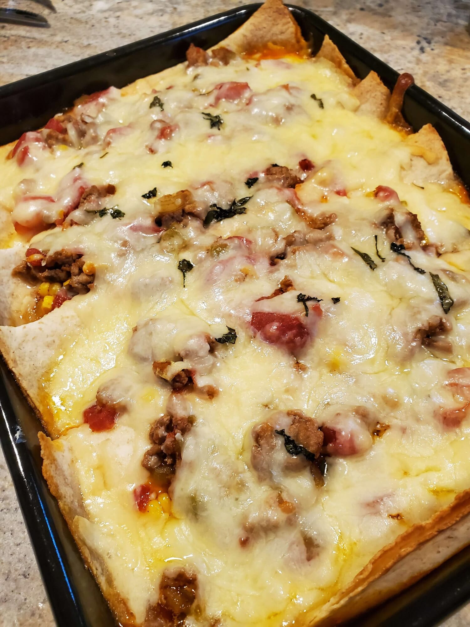 Toufayan Gluten Free Tortilla Enchilada